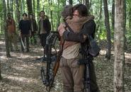 AMC NS Daryl and Carol Hug