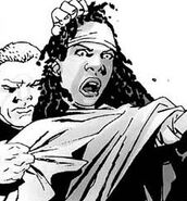 Gabe and Michonne