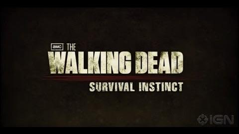 The Walking Dead Survival Instinct Gameplay Trailer 1