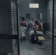 Rick, Morgan, and Duane get dressed