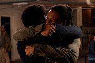 FTWD 6x11 Reunion Hug