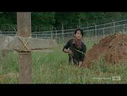 Glenn digging Graves