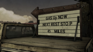Gil's Pitstop Truck Sign