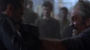Simon and Negan Fistfight 1 S8E15