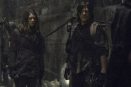 11x01 Maggie and Daryl