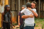 Michonne Rick Maggie 7x08