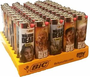 BIC The Walking Dead Series Lighters