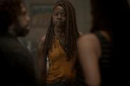 10x04 Michonne Grimes