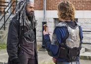 Ezekiel and Benjamin talking 7x10