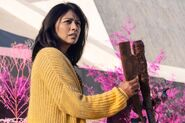 FTWD 6x12 Grace and the Axe