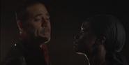 Negan and Michonne S10E13