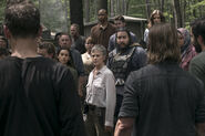 9x03 Queen Carol takes no shit from angry Saviors