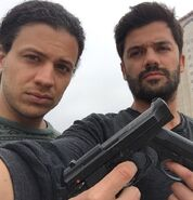 Hector and Oscar BTS (Date of Death)