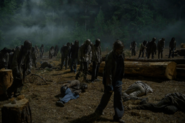 10x04 Walkers invade Hilltop