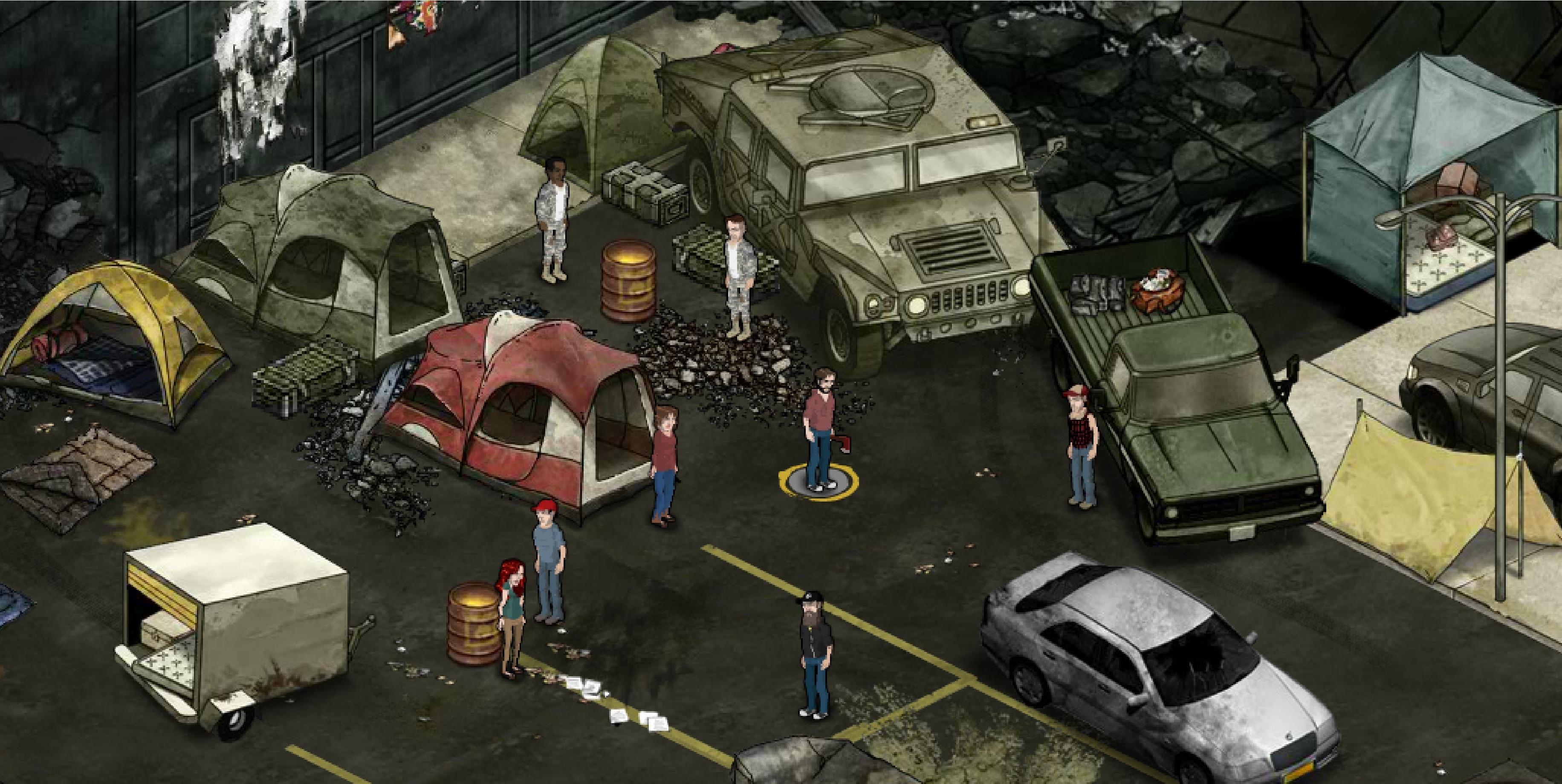 Parking Garage Camp