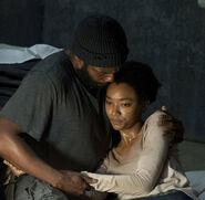 Tyreese and Sasha 4x05