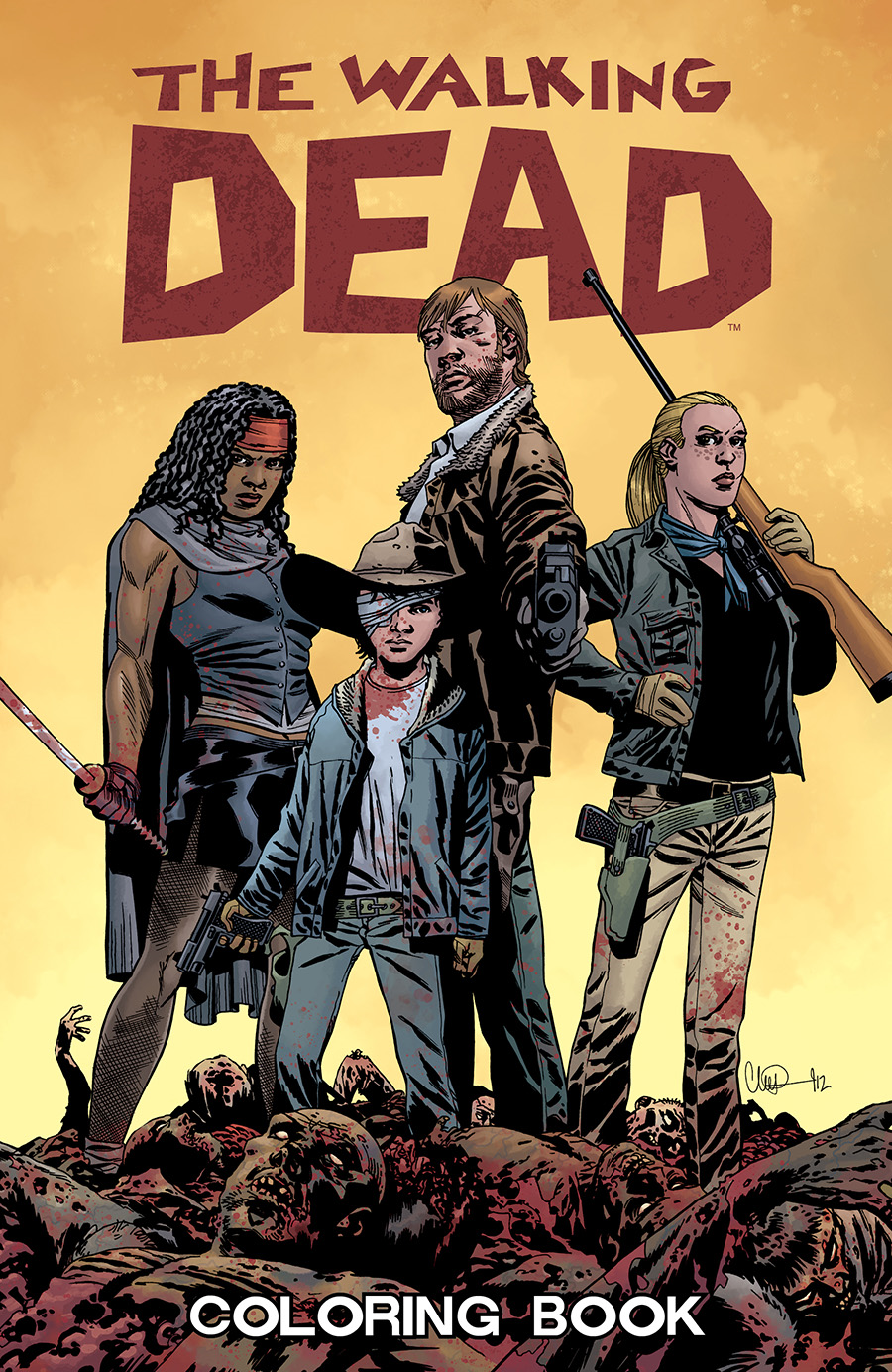 The Walking Dead Coloring Book