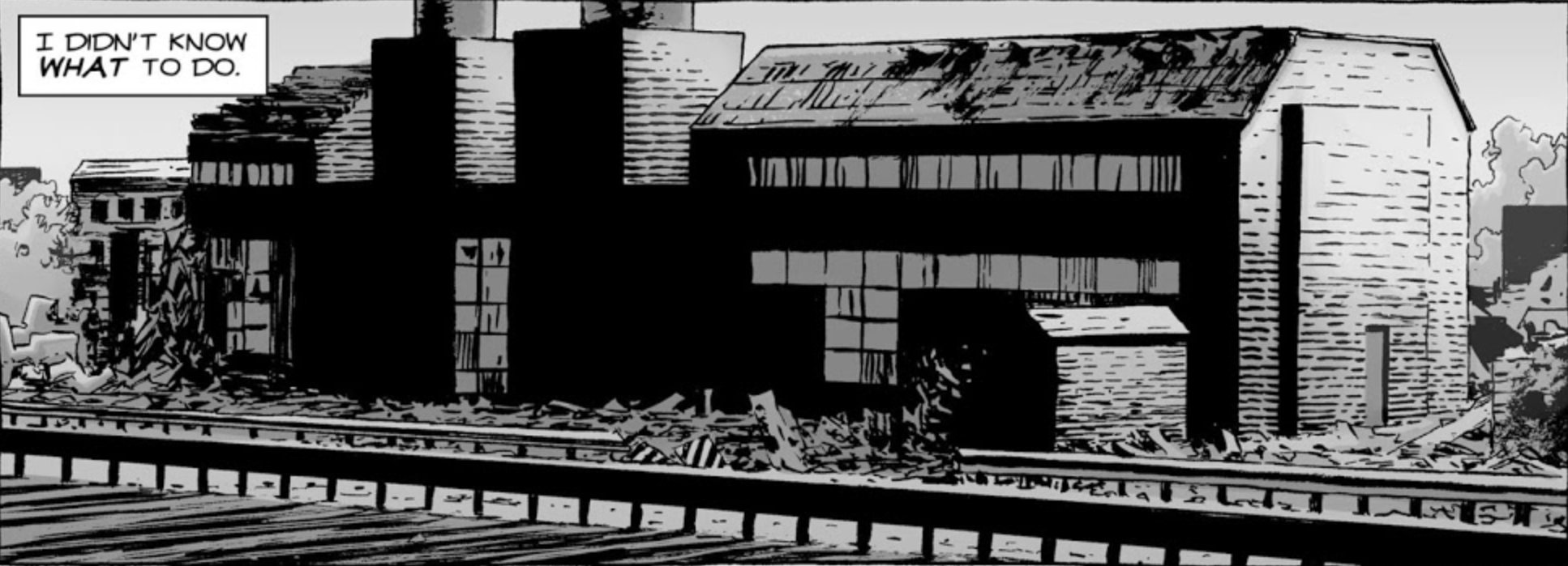 Train Depot Outpost (Comic Series)