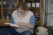 605 Denise reading