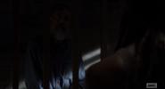 Negan talking to Michonne S9E4