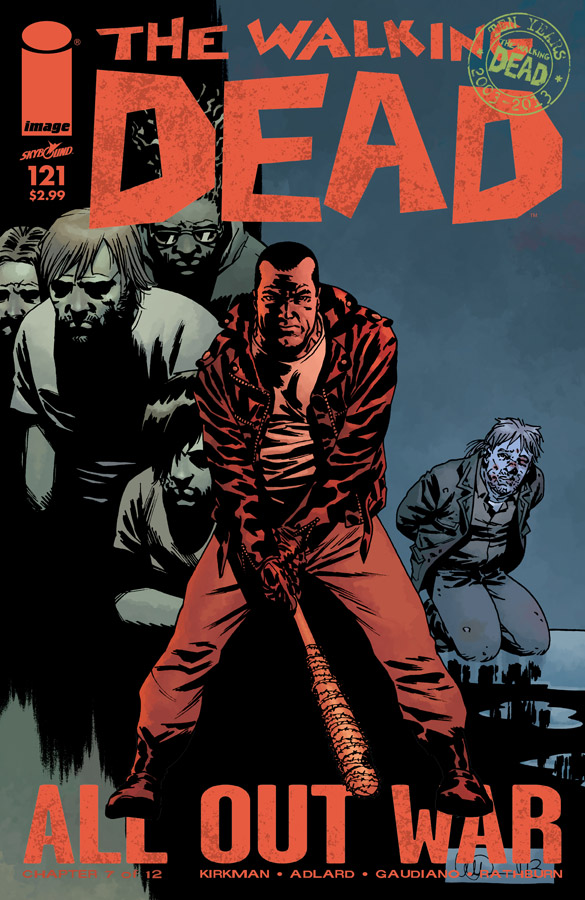 Axel TWD/Issue 121 Preview