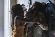 10x13 Michonne attacks virgil