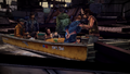 ITD Unloading Boat