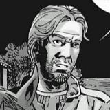 Aaron Talking to Michonne