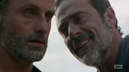 Negan and Rick S7E4