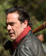Negan with his red scarf S7E16