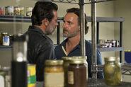 704 Rick and Negan in pantry