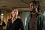 FTWD 6x11 Alicia and Wes