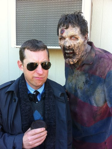 Axel TWD/Scott Gimple New 'Walking Dead' Showrunner