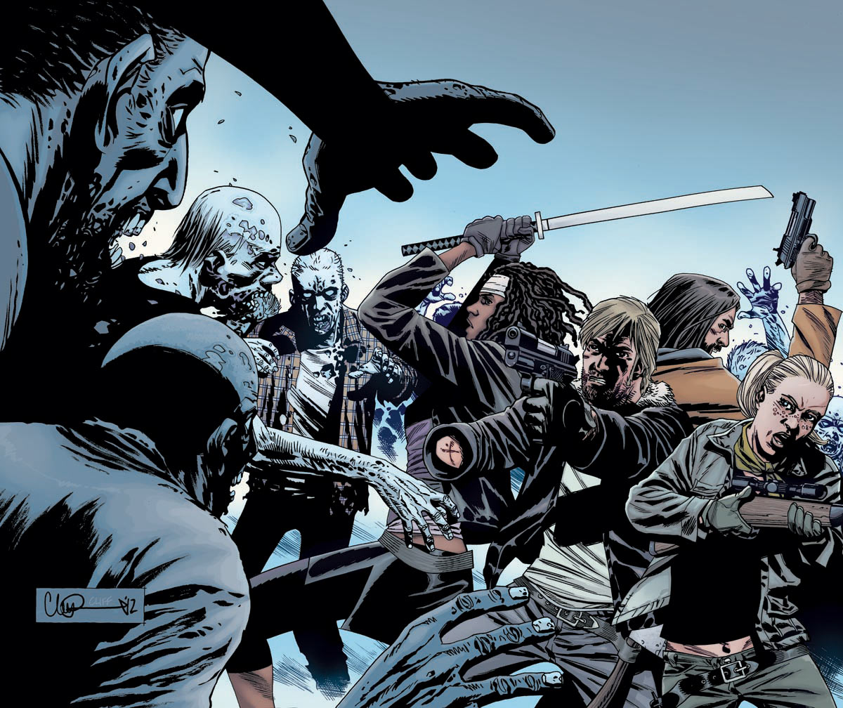 Axel TWD/Variant Covers for Issue 106