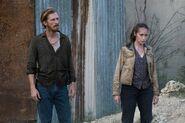 FTWD 6x09 Dwight and Alicia