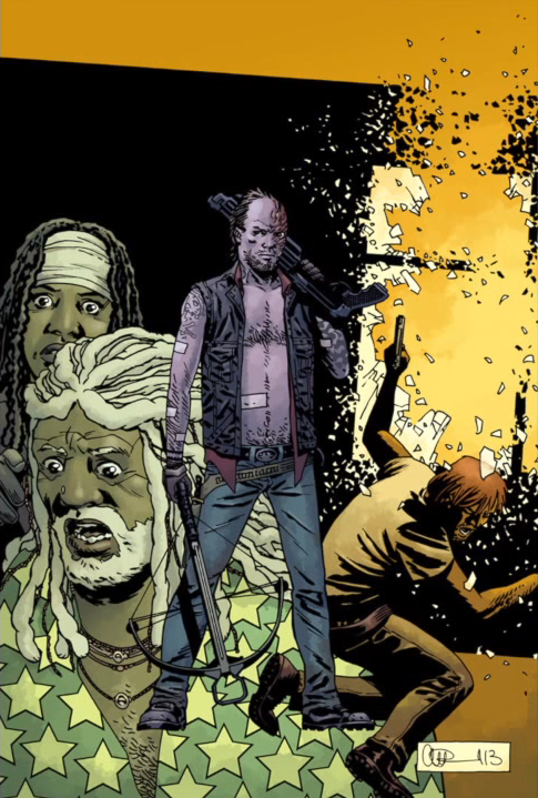 Axel TWD/Issue 119 Cover