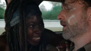 Euphoric Michonne 709 with Tired Rick