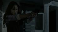Lori shooting walkers