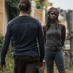 9x02 Michonne and Jesus talk.jpg