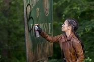 9x01 Rosita graffiti