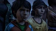 James and Alex sad