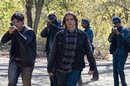 FTWD 6x14 Riley and the Cult
