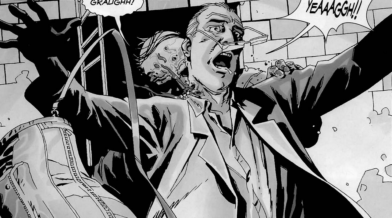 Dr Stevens Comic Series Walking Dead Wiki Fandom