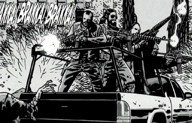 Alexandria Guard 1 (Comic Series)/Gallery
