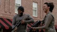 Prey Tyreese and Sasha Laugh