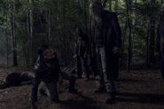 10x05 Negan is captured by the Jolly Gigant
