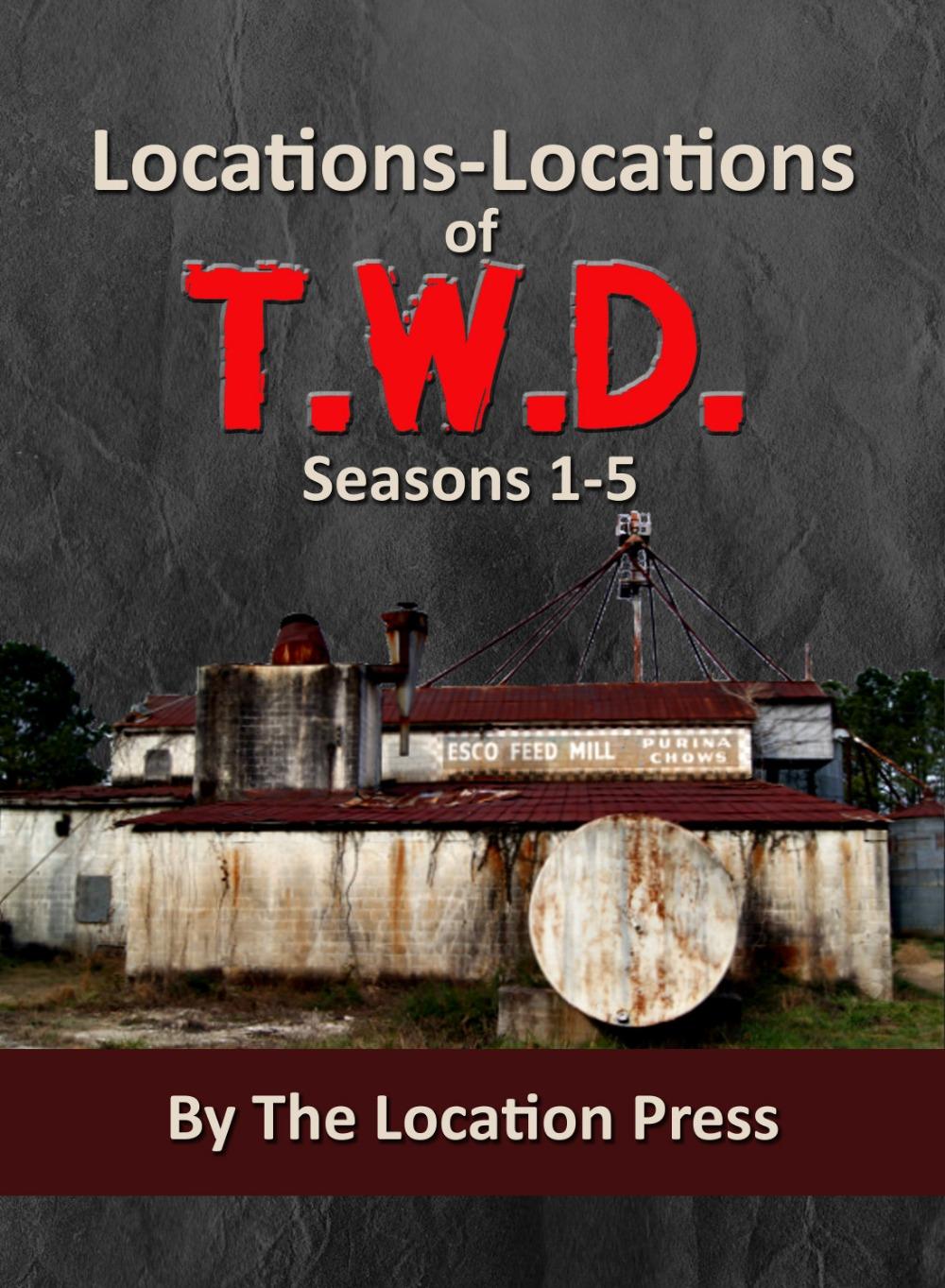 Locations-Locations of T.W.D. Seasons 1-5