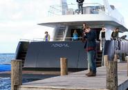 FTWD 202 Abigail Leaving Pier