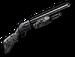 Camouflaged Shotgun
