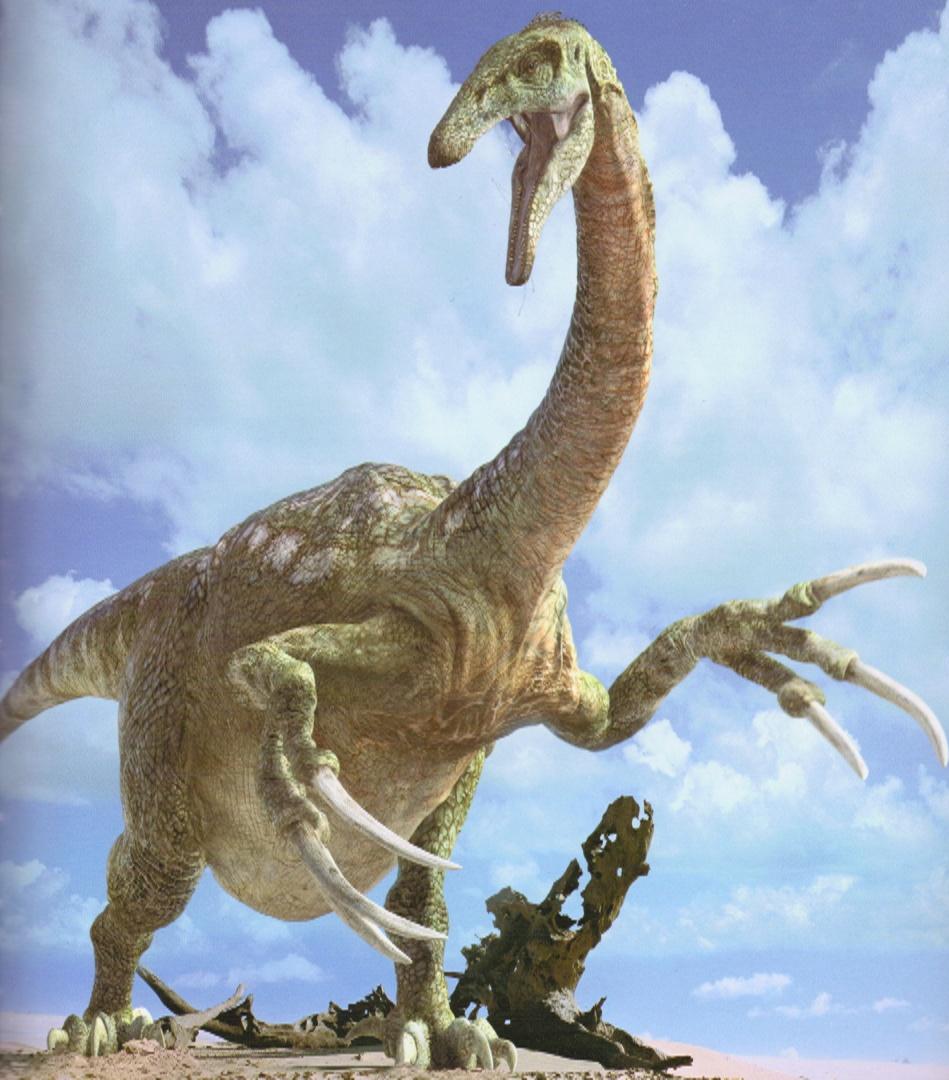 Therizinosaurs